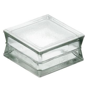 Luksfer pustak szklany podłogowy P 19.100 satynowany La Rochere