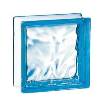 Luksfer pustak szklany 198 Azure Flemish E 60 EI 15 La Rochere