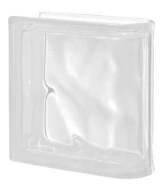 Pustak szklany luksfer Ter Curved Neutro T Sat Seves Design