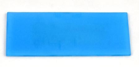 Lazurowa matowa płytka wykończeniowa do luksferów