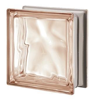 Luksfer pustak szklany Q19 Rosa O Met Seves Design