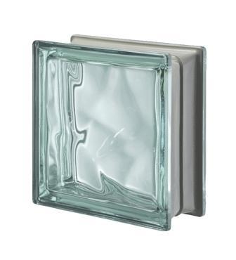 Luksfer pustak szklany Q19 Turchese O Met Seves Design