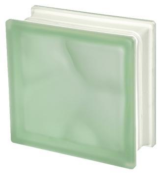 Luksfer pustak szklany Q19 Verde O Sat Seves Design