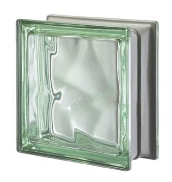 Luksfer pustak szklany Q19 Verde O Met Seves Design